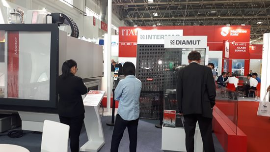 Las tecnologías Diamut en China Glass 2019