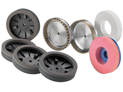 Cup grinding wheels for bevelling machines
