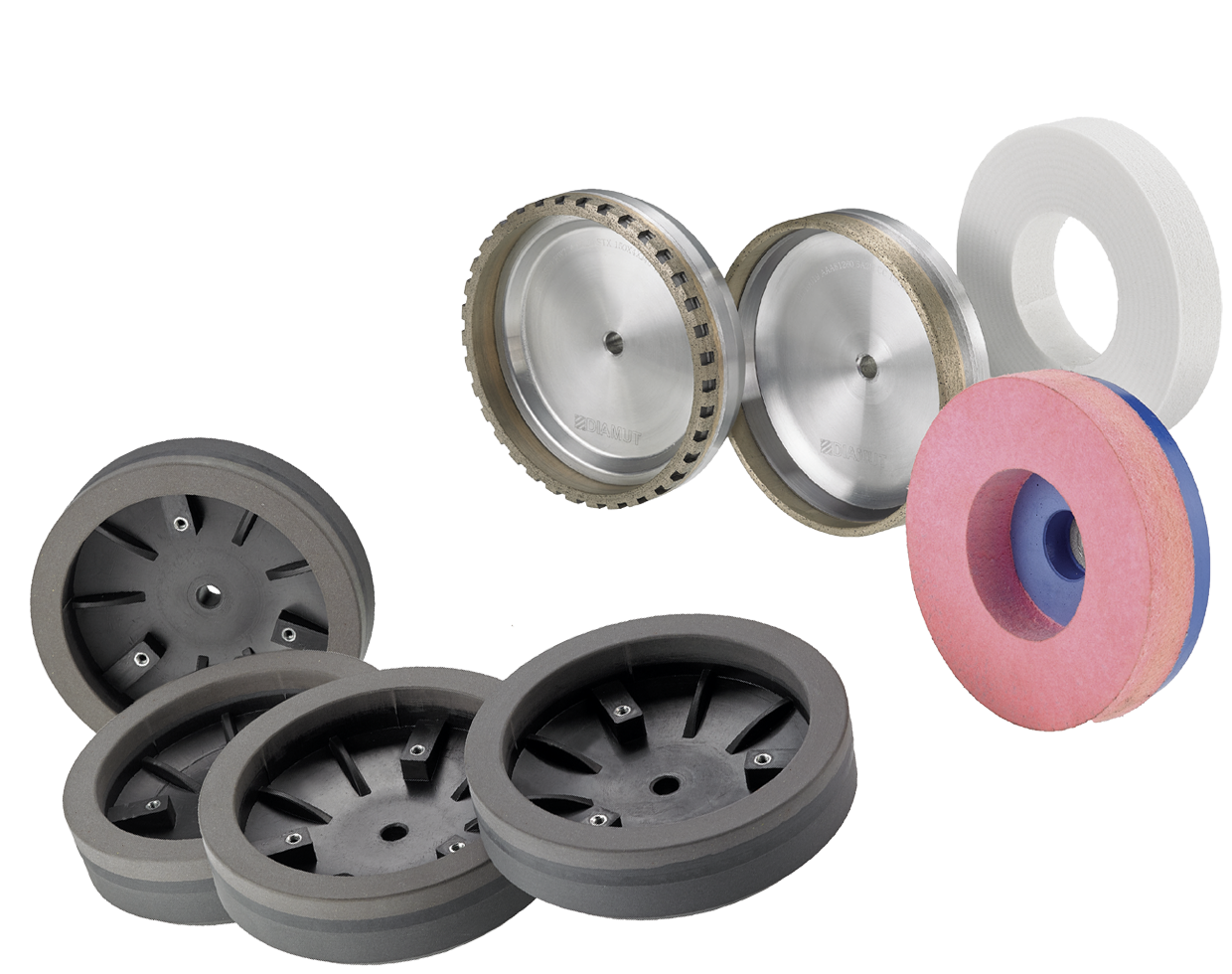 Cup grinding wheels for bevelling machines: Photo 1