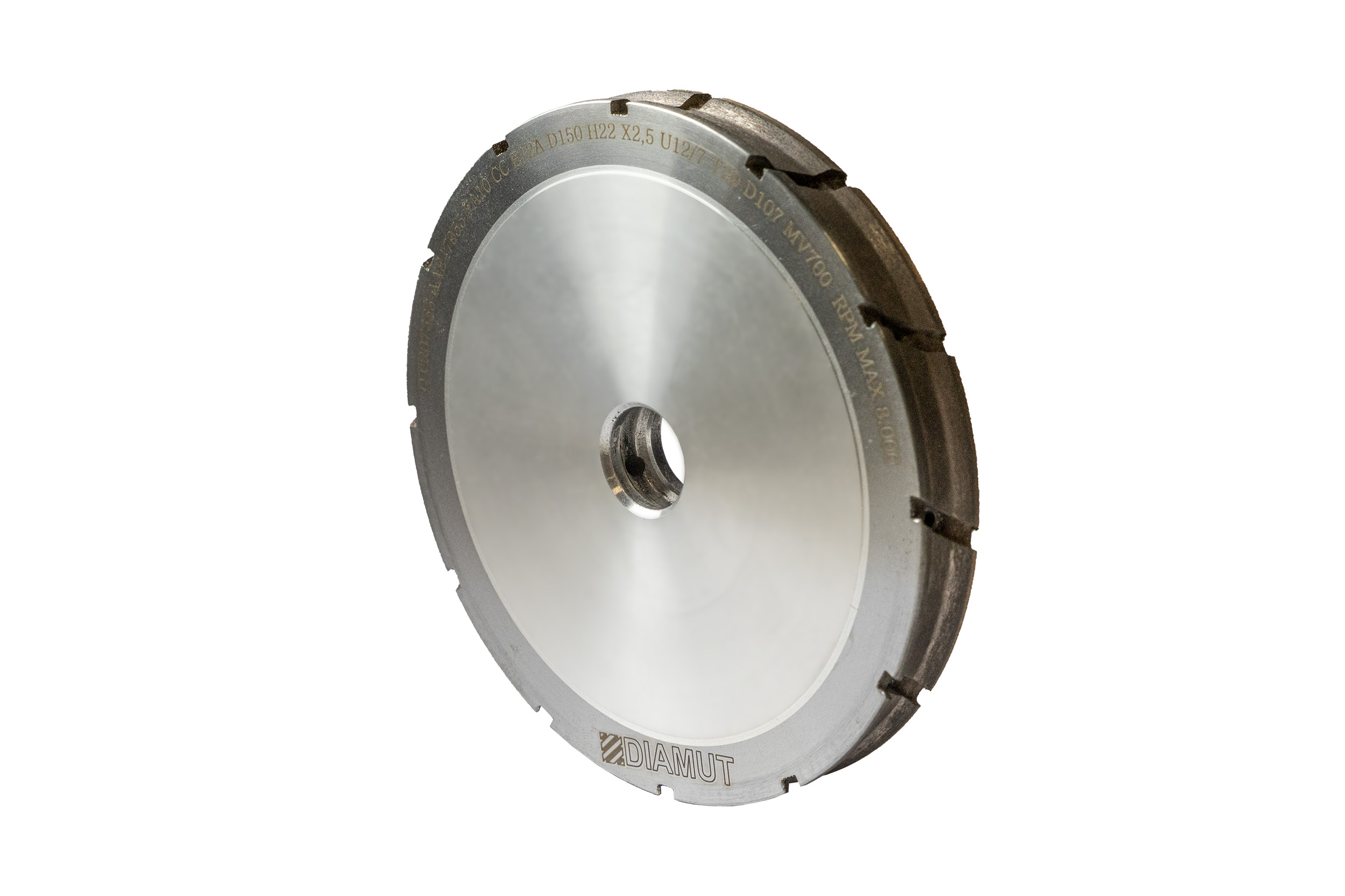 Peripheral grinding wheels and polishing wheels for vertical machines: Photo 2