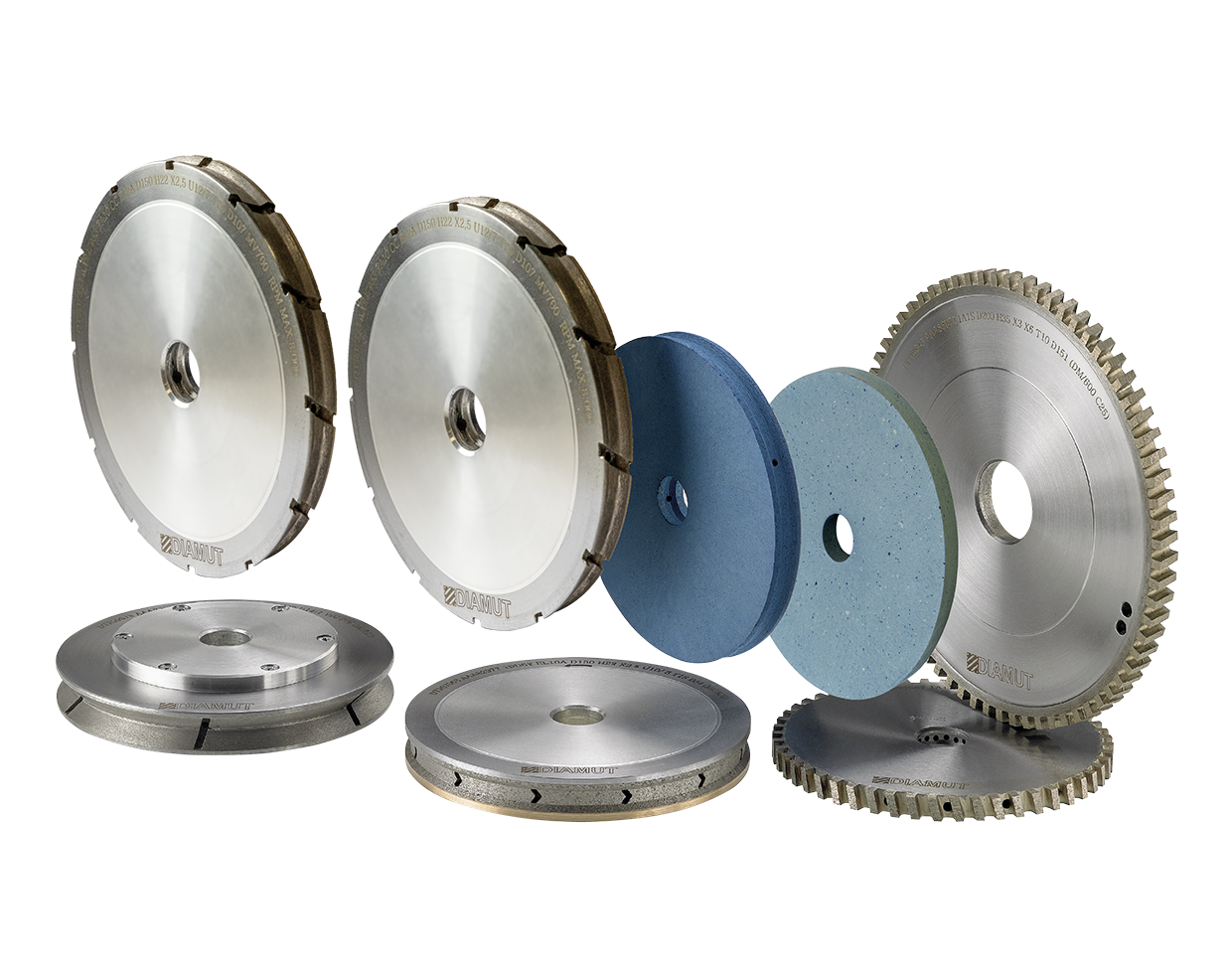 Peripheral grinding wheels and polishing wheels for vertical machines: Photo 1